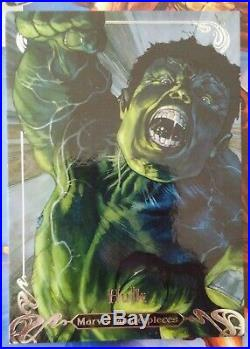 2018 Marvel Masterpieces #86 Hulk 48/99