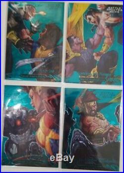2018 Marvel Masterpieces Battle Spectra Gem Set 1-15