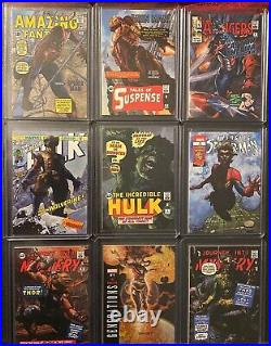 2018 Marvel Masterpieces Complete Tier 4 What If set #82 #90