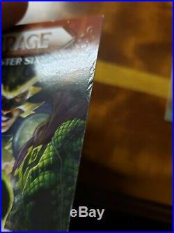 2018 Marvel Masterpieces Mirage Set 3D Lenticular 1 thru 9
