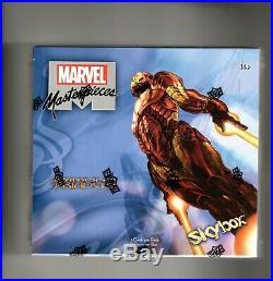 2018 Marvel Masterpieces Simone Bianchi 1 sealed Box