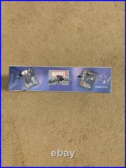 2018 Marvel Masterpieces Trading Cards SEALED UNOPENED HOBBY BOX 12 Packs UD
