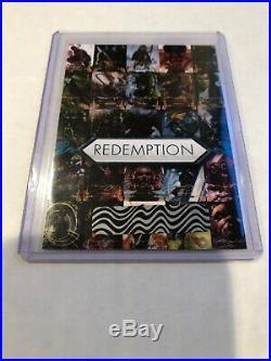 2018 Marvel Masterpieces Unscratched Uncut Sheet Redemption Gold Foil Set