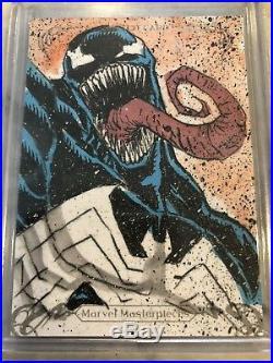 2018 Marvel Masterpieces VENOM sketch by Jeffrey Benitez 1/1