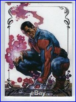 2018 Marvel Masterpieces base set 1-81