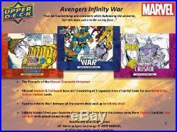 2018 UD Upper Deck Marvel Avengers Infinity War Hobby Box