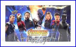 2018 Upper Deck Marvel Avengers Infinity War Hobby Box Sealed Booster Box
