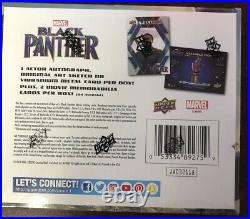 2018 Upper Deck Marvel Black Panther TRADING CARD Sealed Box Chadwick Boseman