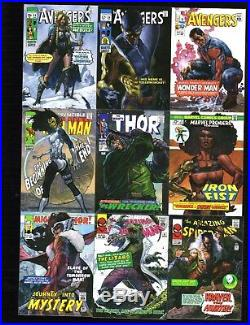 2018 Upper Deck Marvel Masterpieces Complete base & What-IF sets 162 cards