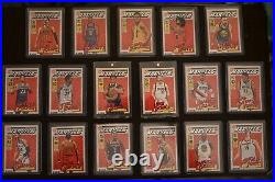 2019-20 Donruss Net Marvels Almost Complete Set (17 cards) Luka, Zion, Giannis