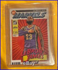 2019-20 Donruss Net Marvels LeBron James Lakers
