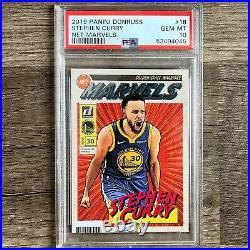 2019-20 Donruss Net Marvels Stephen Curry Golden State Warriors PSA 10 LOW POP