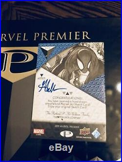 2019 Marvel Premier Spider-Man Sketch Card 1/1