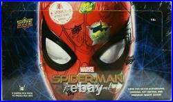 2019 UD Marvel Spider-Man Far from Home Hobby Box Trading Cards Factory Sealed
