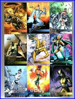 2019 Upper Deck Flair Marvel 140 card base set TIER 1,2,3,4 and 5+ WRAPPER