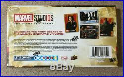 2019 Upper Deck Marvel Studios The First Ten Years Factory Sealed Hobby Box Card