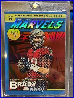 2020 Donruss Football Marvels Tom Brady Ultra Rare SSP