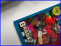 2020 Donruss Football Marvels Tom Brady Ultra Rare SSP. Tampa bay buccaneers