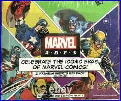 2020 Marvel Ages Upper Deck Trading Cards Factory Sealed Box