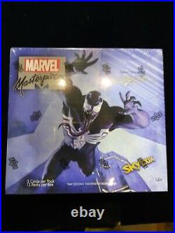 2020 Marvel Masterpieces Trading Cards FACTORY SEALED HOBBY BOX