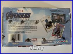 2020 Upper Deck Avengers Endgame & Captain Marvel Movie Sealed Hobby Box