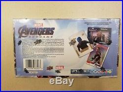 2020 Upper Deck Avengers Endgame Captain Marvel Trading Cards Hobby Box