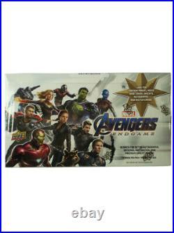 2020 Upper Deck Avengers Endgame Trading Cards Sealed Hobby Box Captain Marvel