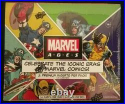 2020 Upper Deck Marvel Ages Trading Cards Factory Sealed Box NEW