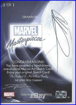 2020 Upper Deck Marvel Masterpieces Artist Sketch VENOM 1/1 by Unknown