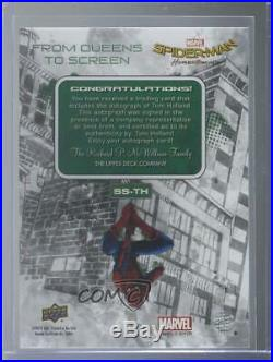 2020 Upper Deck Marvel Spider-Man Far From Home Tom Holland #SS-TH Auto p1l