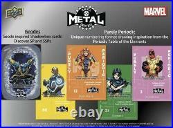 2021 Marvel X-MEN Metal Universe Trading Card Sealed Box Upper Deck IN HAND
