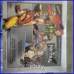2021 Marvel X-Men Metal Universe Trading Cards Box Upper Deck