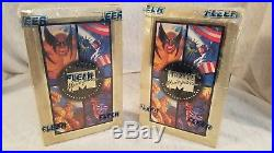 2 Marvel 1994 Fleer Masterpiece Trading Cards Unopened Boxes Still Wrapped