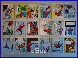 (54) 1966 Donruss Marvel Super Heroes Vintage Starter Set Lot Cards Spiderman