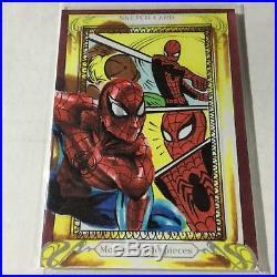 Achilleas Kokkinakis SPIDER-MAN Artist Sketch Card 2018 Marvel Masterpieces