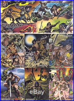 All Five Conan Card sets Conan 1, 2, 3, Marvel Years Chromium & Hyborian Age