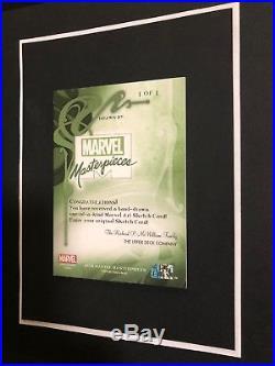 BLANK SKETCH CARD RARE! 2018 Marvel Masterpieces