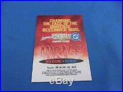 Batman Wolverine Mirage RARE Promo Card Marvel Vs DC 1995 Promotional Balent