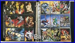 Boris & Julie Marvel Masterpieces Fleer Skybox 1996 Complete 100 Card Base Set