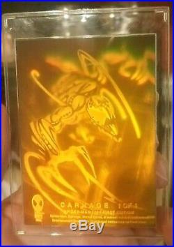 CARNAGE Hologram Card 1 of 4 Fleer Marvel Spider-Man 1994 First Edition! MINT