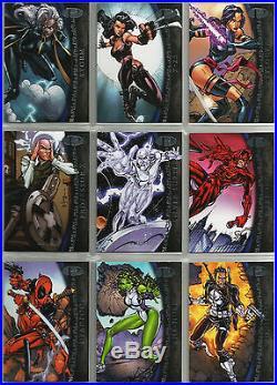 Complete 50 Base Card Set 2012 Marvel Premier 1-50 Super Rare Only 199 Made