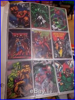 Cards Collection Pepsi Cards Marvel Complete 9 Prisms 4 Holograms Base 100 Cards