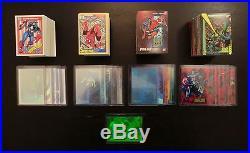 Complete 1990, 1991, 1992, 1993 Marvel Universe Sets! Base + Inserts. Comic Card