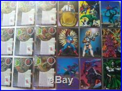 Complete Marvel Pepsi Cards 1995 Album Collection