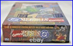 DC Comics Versus Marvel Comics Trading Card Box Set 1995 FACTORY SEALED