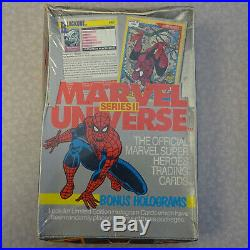 FACTORY SEALED Impel Marvel Universe Series 1, 2 & 3 Card Cases (1990-92)