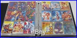 FLEER ULTRA X-MEN 94 95 96 Lot 574 Cards & Binder Marvel Complete Sets Chase