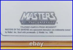 FULL SET of 15 1986 MOTU WONDER BREAD He-Man Card Masters of the Universe RARE