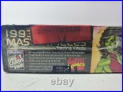 Factory Sealed 1993 Marvel Masterpieces Trading Card Box Skybox (36 packs/box)