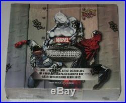 Factory Sealed Hobby Box 2015 Upper Deck Marvel Vibranium Trading Cards
